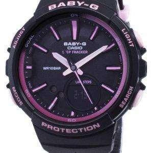 건반 베이비-G BGS 100RT 1A BGS100RT-1A 단계 추적기 아날로그 디지털 여자의 시계