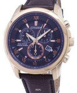 시민 에코 드라이브 BL5542-07E 크로 노 그래프 아날로그 남자의 시계