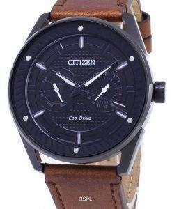 시민 에코 드라이브 BU4028-18E 전력 예비 아날로그 남자 시계
