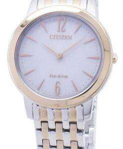 시민 에코 드라이브 EX1496-82A 아날로그 여자의 시계