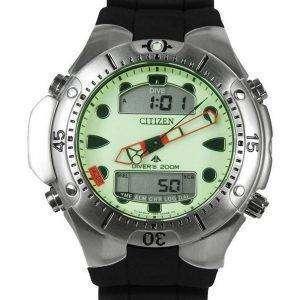 시민 Aqualand 다이 버 깊이 측정기 Promaster JP1060-01W JP1060