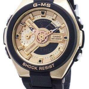 건반 베이비-G MSG-400 G-1A2 MSG400G 1A2 아날로그 디지털 여자의 시계