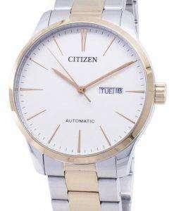 시민 자동 NH8356-87A 아날로그 남자의 시계