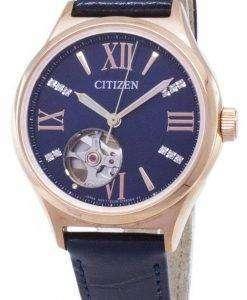 시민 자동 PC1003-15 L 다이아몬드 악센트 아날로그 여자의 시계