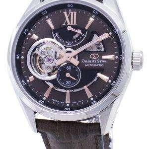 동양 스타 자동 다시-AV0006Y00B 전력 예비 일본 아날로그 남자의 시계를 만든