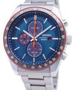 세이 코 태양 SSC717 SSC717P1 SSC717P 크로 노 그래프 타키 미터 남자의 시계