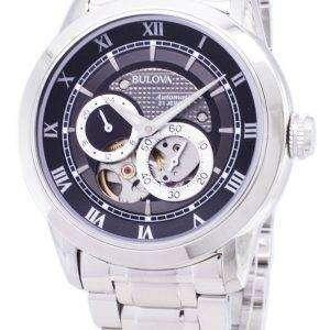 뻐꾸기 자동 BVA 시리즈 듀얼 조리개 다이얼 96A119 Mens 시계
