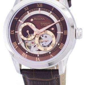 뻐꾸기 자동 BVA 시리즈 듀얼 조리개 다이얼 96A120 Mens 시계