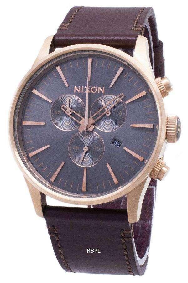 닉슨 센 크로 노 쿼 츠 A405-2001-00 남자 시계