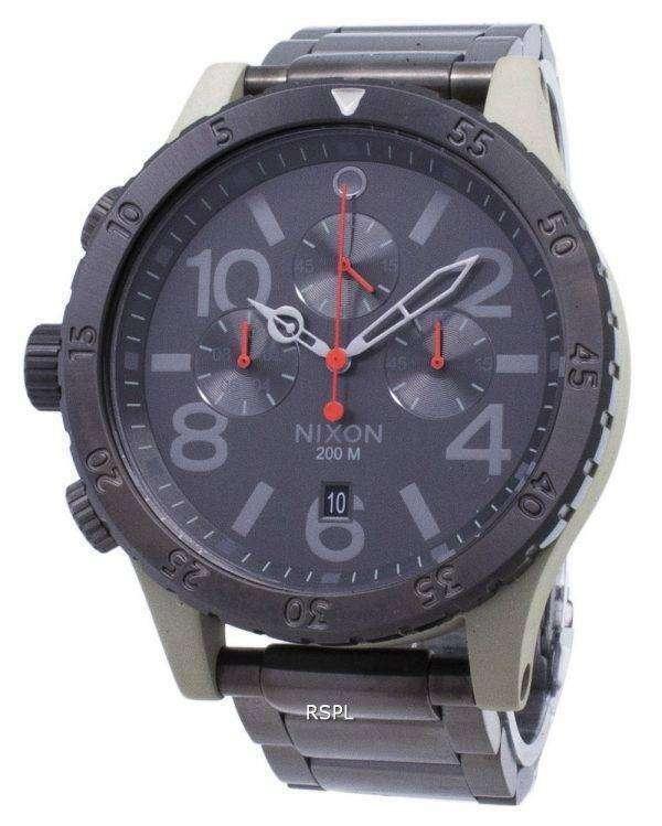 닉슨 48-20 크로 노 쿼 츠 A486-2220-00 남자의 시계