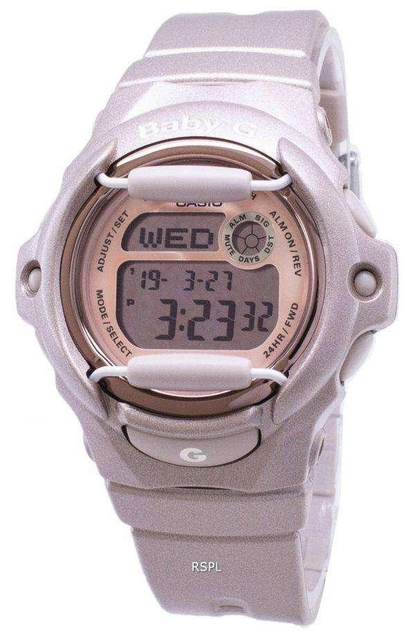 카시오 베이비 G 디지털 세계 시간 데이터뱅크 BG-169G-4 여성 시계