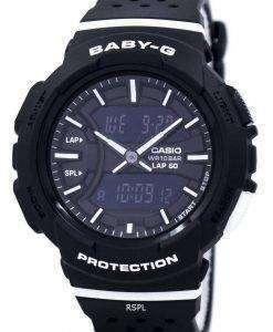 건반 베이비-G 충격 방지 듀얼 타임 아날로그 디지털 BGA-240-1A1 여자의 시계