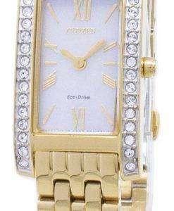 시민 에코 드라이브 EX1472-81 D 아날로그 여자의 시계