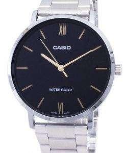 카시오 석 영 MTP-VT01D-1B MTPVT01D-1B 아날로그 남자의 시계