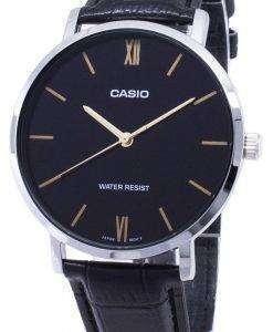카시오 석 영 MTP-VT01L-1B MTPVT01L-1B 아날로그 남자의 시계