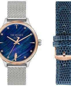 Trussardi T-공모 R2453130505 석 영 여자의 시계