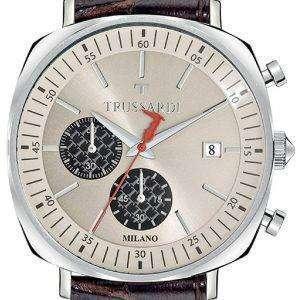 Trussardi T-킹 R2471621002 크로 노 그래프 쿼 츠 남성용 시계