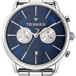 Trussardi T-세계 R2473616003 크로 노 그래프 쿼 츠 남성용 시계