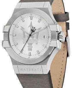 마 세라 티 포 텐 R8851108018 아날로그 쿼 츠 남성용 시계