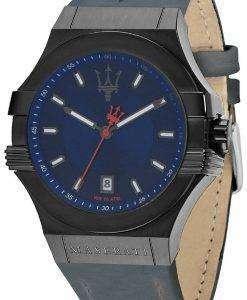 마 세라 티 포 텐 R8851108021 석 영 남자의 시계