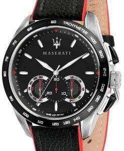 마 세라 티 Traguardo R8871612028 크로 노 그래프 타키 미터 남자 시계