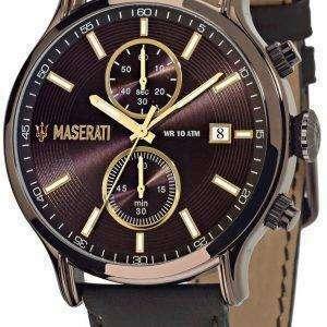 마 세라 티 Epoca R8871618006 크로 노 그래프 남성 시계