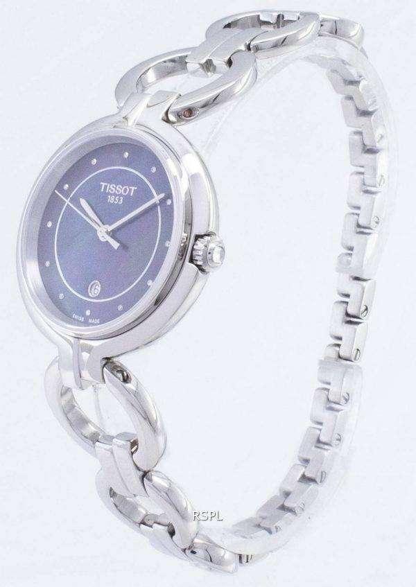 Tissot T-레이디 플라밍고 T094.210.11.126.00 T0942101112600 석 영 여자의 시계