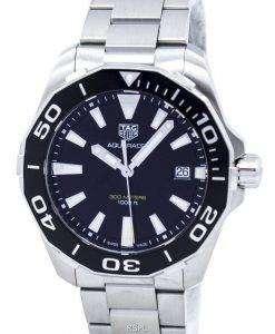 태그 Heuer Aquaracer 쿼 츠 300 M WAY111A BA0928 남자의 시계