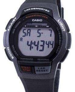 카시오 청소년 WS-1000 H-1AV WS1000H-1AV 조명 디지털 남자 시계