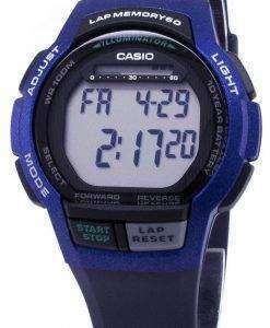 카시오 청소년 WS-1000 H-2AV WS1000H-2AV 조명 디지털 남자 시계