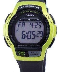 카시오 청소년 WS-1000 H-3AV WS1000H-3AV 조명 디지털 남자 시계