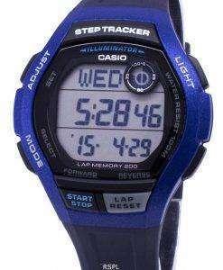카시오 청소년 WS-2000 H-2AV WS2000H-2AV 조명 디지털 남자 시계