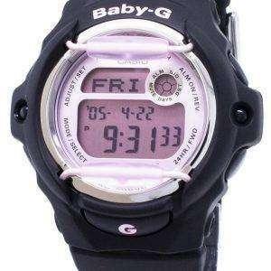 건반 베이비-G BG-169 M-1 BG169M-1 세계 시간 충격 방지 여자의 시계