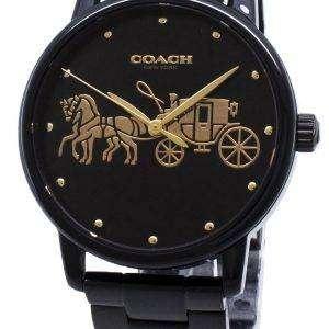 그랜드 14502925 아날로그 석 영 여자의 시계 코치