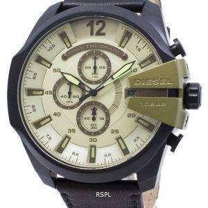 디젤 메가 최고 DZ4495 크로 노 그래프 쿼 츠 남성용 시계