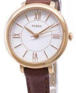 화석 재클린 ES4412 석 영 아날로그 여자의 시계