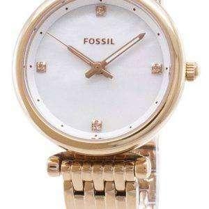 화석 Carlie ES4429 석 영 아날로그 여자 시계