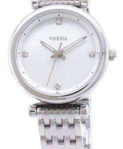 화석 Carlie ES4430 석 영 아날로그 여자 시계