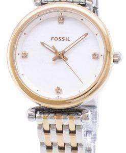 화석 Carlie ES4431 석 영 아날로그 여자 시계