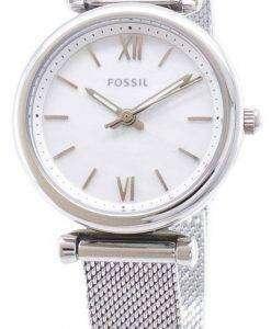 화석 Carlie ES4432 석 영 아날로그 여자 시계