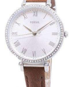 화석 킨제이 ES4446 다이아몬드 악센트 석 영 여자의 시계