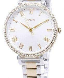 화석 킨제이 ES4449 다이아몬드 악센트 석 영 여자의 시계