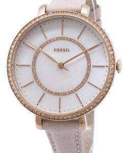 화석 조 슬 린 ES4455 다이아몬드 악센트 석 영 여자의 시계