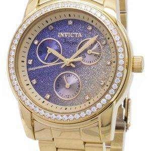 인 빅 타 천사 23822 크로 노 그래프 다이아몬드 악센트 여자의 시계