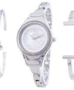 인 빅 타 천사 26765 다이아몬드 악센트 석 영 여자의 시계