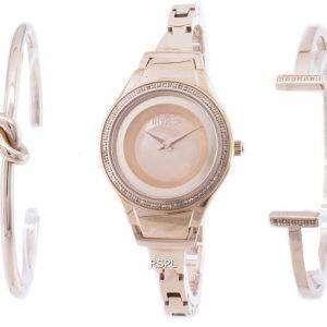 인 빅 타 천사 26767 다이아몬드 악센트 석 영 여자의 시계