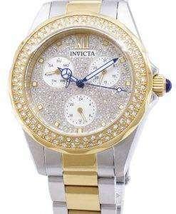 인 빅 타 천사 28433 다이아몬드 악센트 아날로그 석 영 여자의 시계
