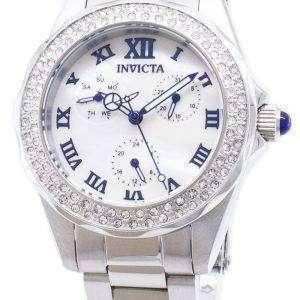 인 빅 타 천사 28436 다이아몬드 악센트 아날로그 석 영 여자의 시계