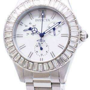 인 빅 타 천사 28450 다이아몬드 악센트 아날로그 석 영 여자의 시계