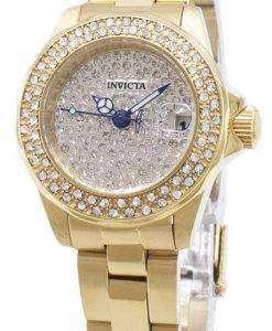 인 빅 타 천사 28456 다이아몬드 악센트 아날로그 석 영 여자의 시계